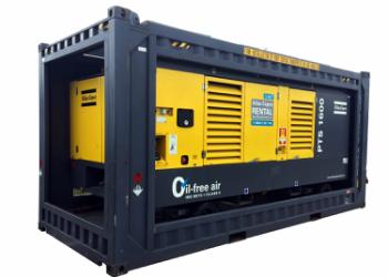 100 prosent oljefrie dieselkompressor