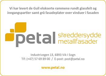 Petal - Sparebank 1 Rygge- Metalfasade