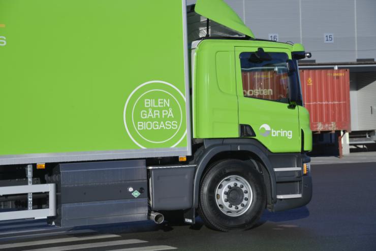 Enova støtter innkjøp av biogasskjøretøy