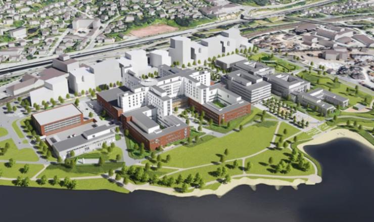 Nye Drammen Sykehus